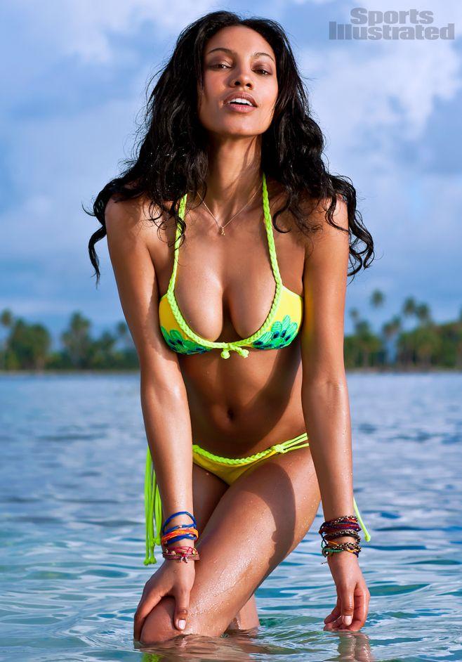 Ariel Meredith[阿里尔·梅勒迪斯],模特,黑美人,体育画报,泳装,精彩图集