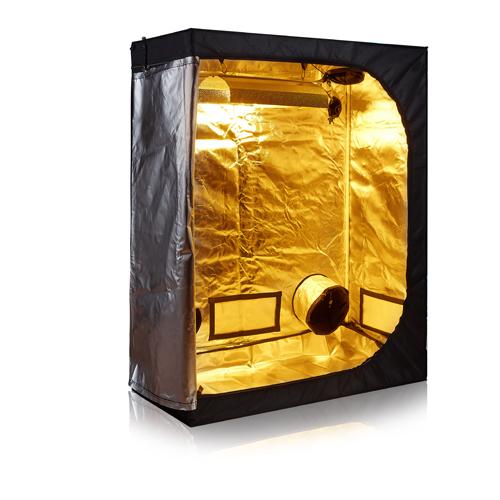 48 x24 x60 indoor grow tent 600d reflective diamond mylar for Indoor gardening reflective material