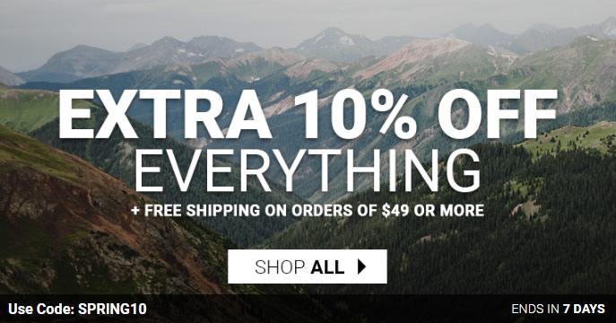 Mountain Steals 再次春季促销 全场户外鞋服4折起+额外85折 含始祖鸟、猛犸象、土拨鼠等
