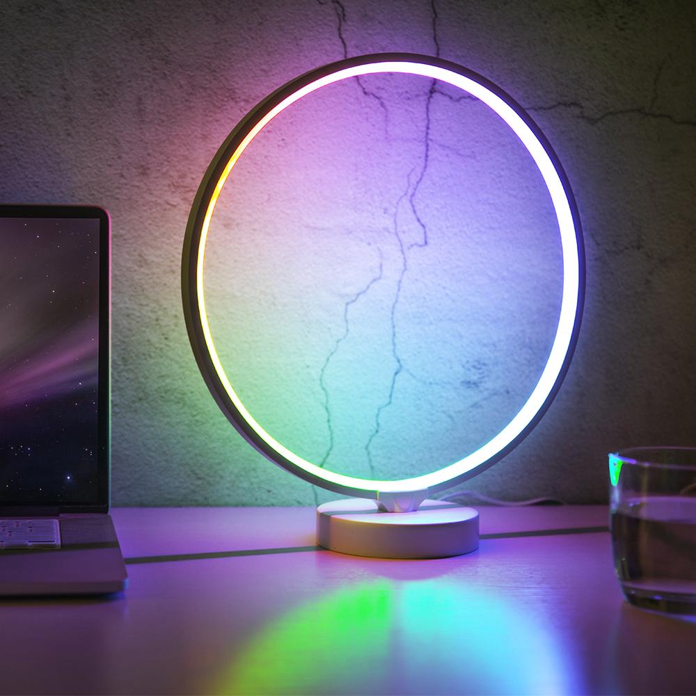 Led Table Bedside Lamp Night Stand Desk
