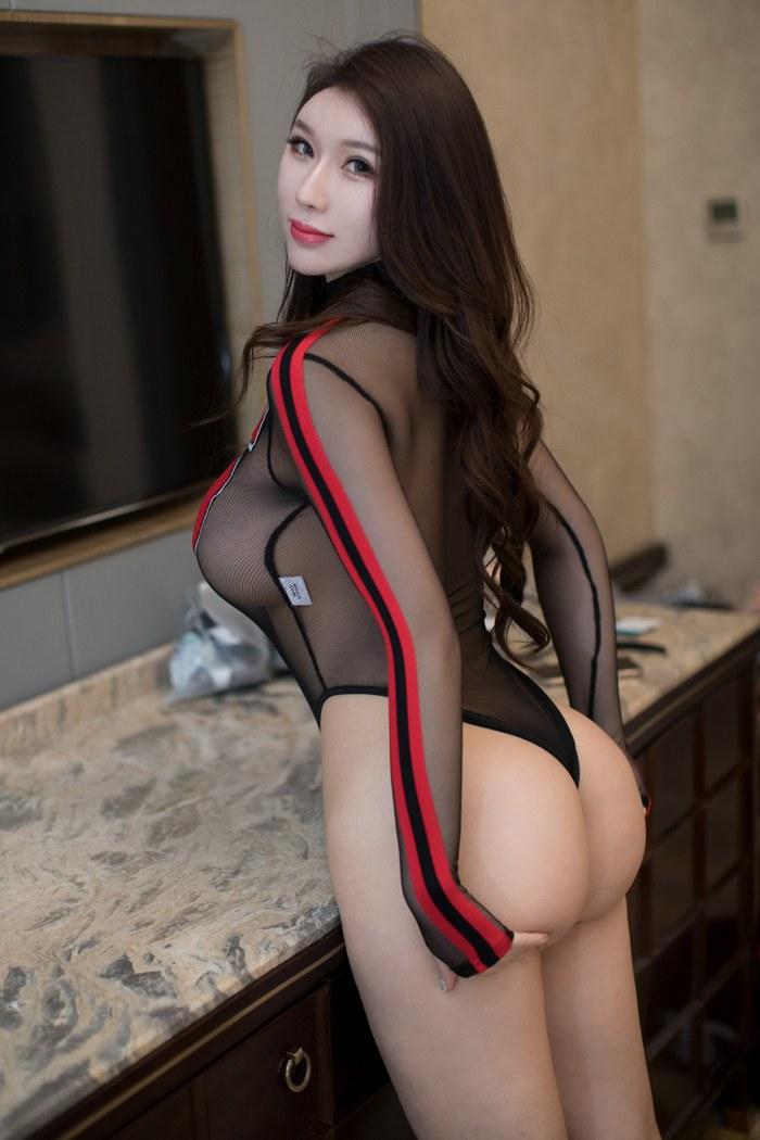 221 - Young chick black stockings enchanting