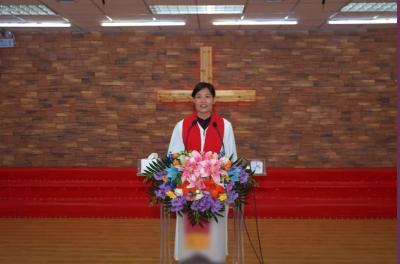 哈尔滨道外基督教会举办声乐培训汇报典礼