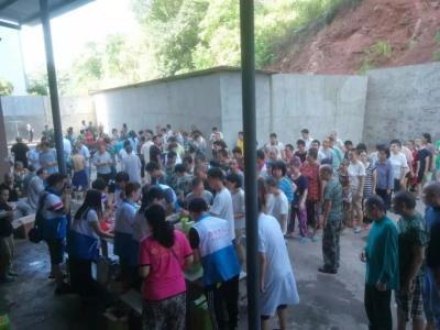 湖南永州市冷水滩基督教义工服务队探访星安残疾人康复中心