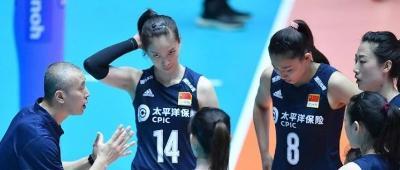 遗憾!中国女排1-3惨遭泰国队逆转,无缘亚锦赛决赛