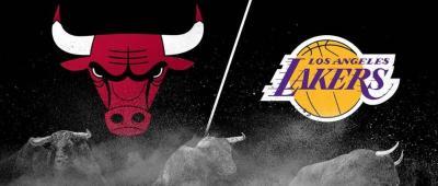 6日NBA常规赛 湖人VS公牛