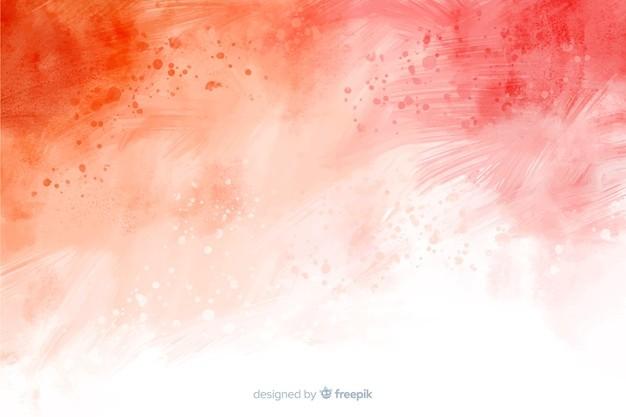 红色抽象手绘背景免费矢量 背景