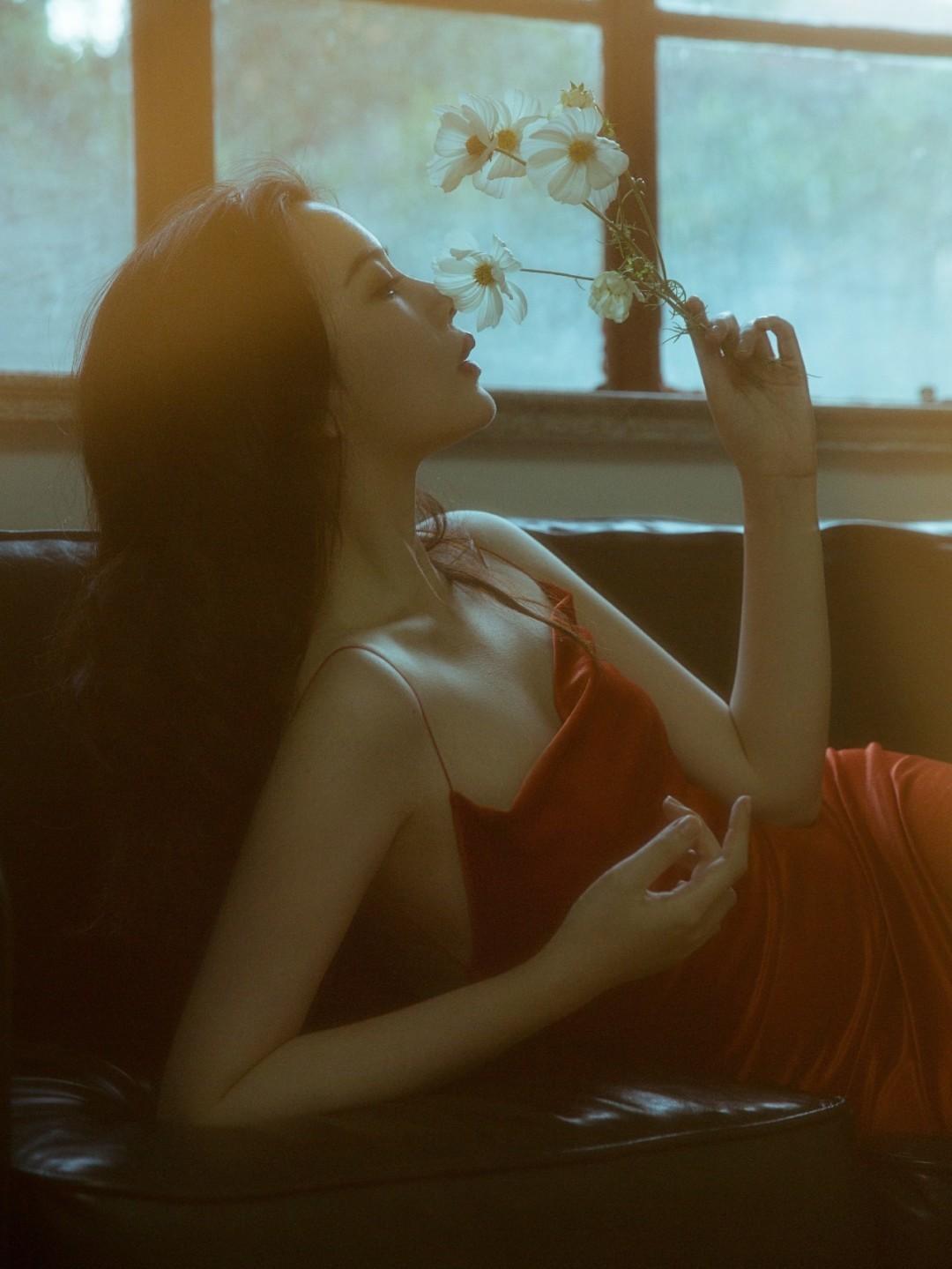 朦胧的美感🌹红色的浪漫与撩人