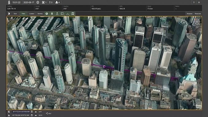 Kongsberg Geospatial公司展示全球最高分辨率3D地形数据