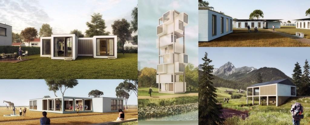 瑞士开发再生PET结构解决住房危机