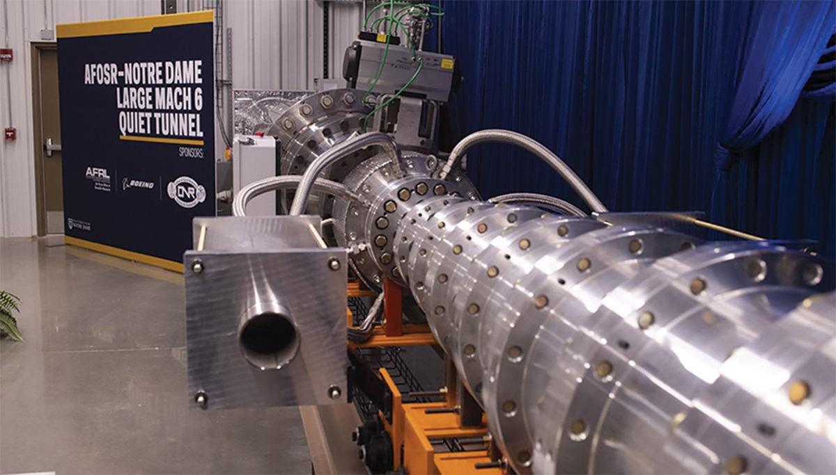 美国科研人员启动高超音速风洞研发工作