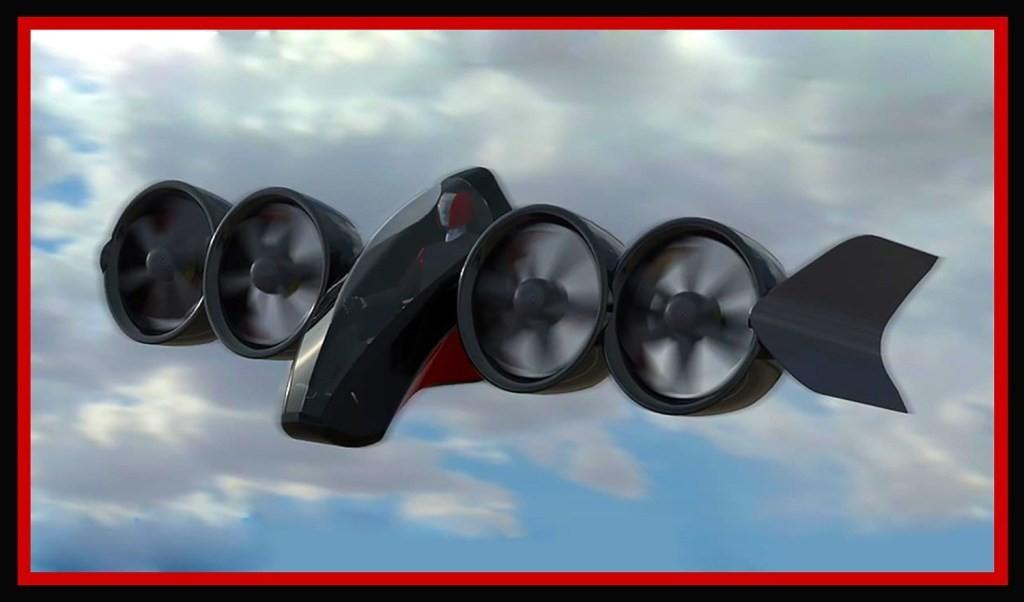 这款像《星球大战》的单座电动垂直起降eVTOL飞机计划明年出售