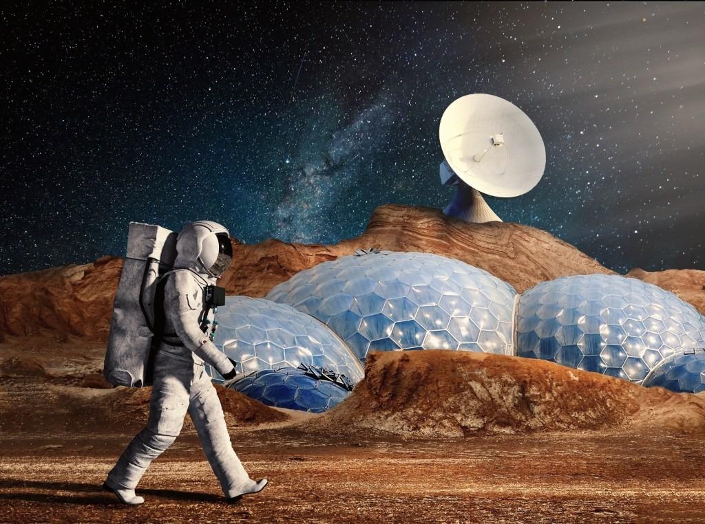美国太空部队计划建造月球基地
