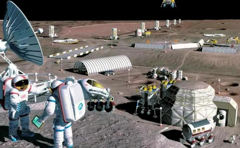 日本科学家找到办法在月球上建城市