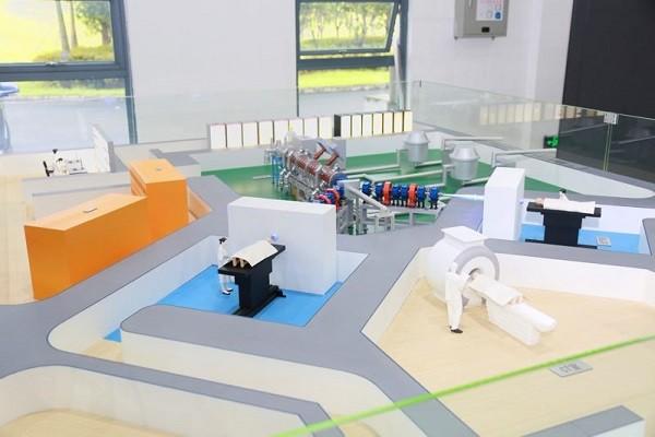 BNCT模型--我国首台自主研发加速器硼中子俘获治疗实验装置研制成功