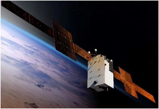 波音公司和美国太空部队开发先进的通信卫星