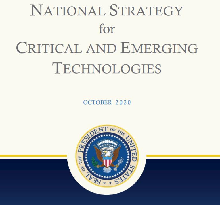 白宫发布《关键技术和新兴技术国家战略》
