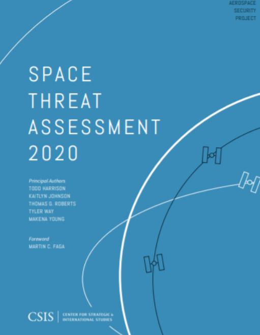 CSIS报告: 2020年空间威胁评估