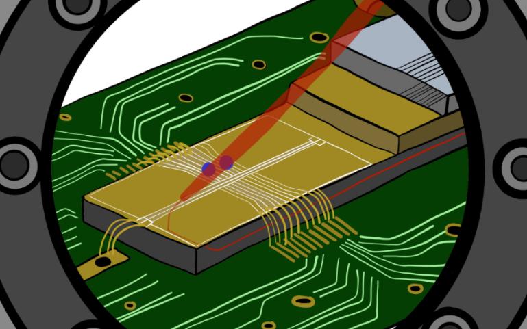 研究人员展示一种对原子执行量子计算的新技术