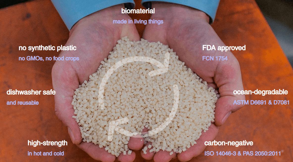 一家生物技术公司用微生物将甲烷转化为可降解新材料