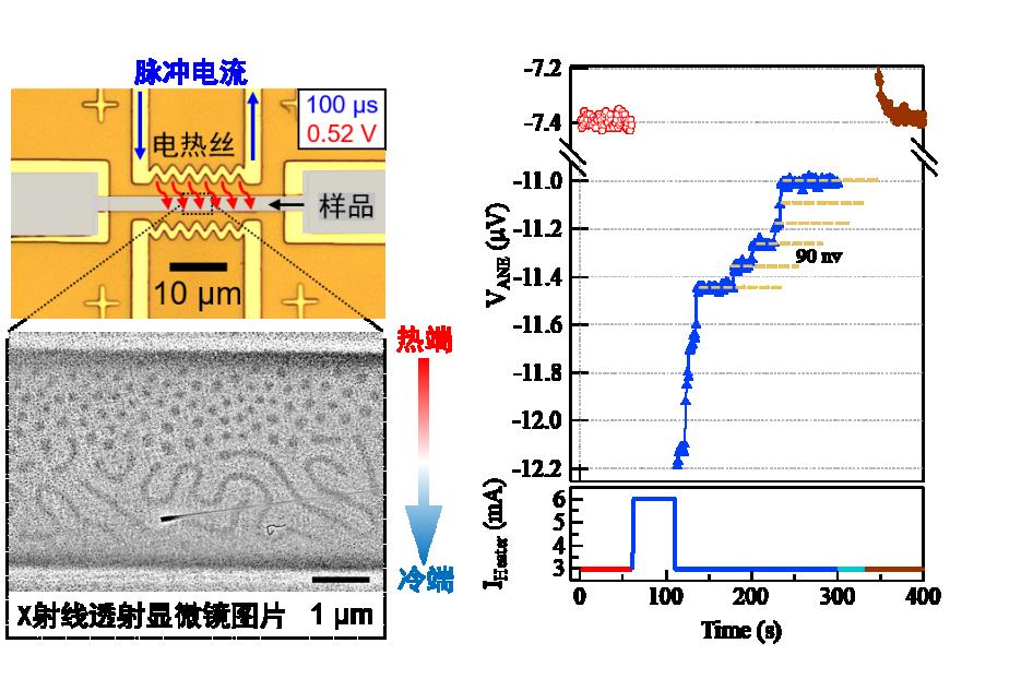 清华研究团队在拓扑磁结构的热电操控和探测方面取得进展