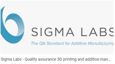 Sigma Labs进入定向能量沉积增材制造领域