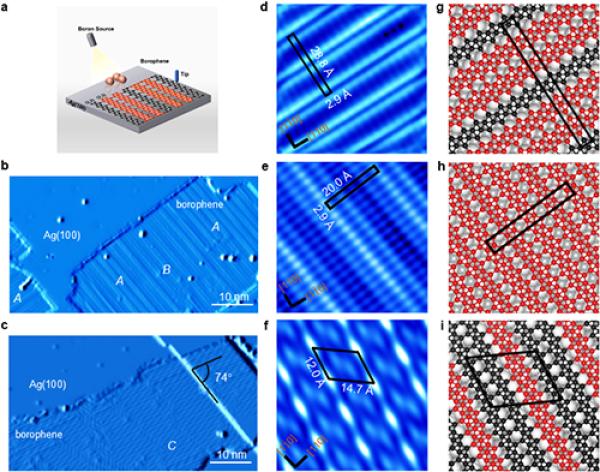 物理所硼烯原子结构的可控制备研究获进展