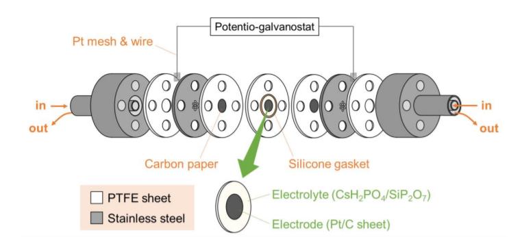东京大学团队在SAECs中间温度下通过蒸汽电解制氢