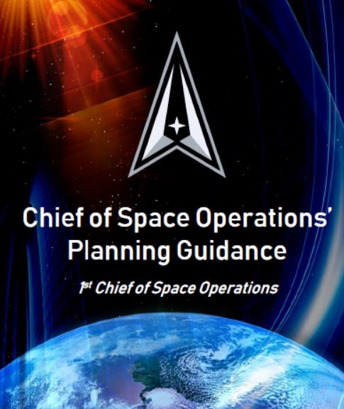 美太空军发布《太空作战规划指南》
