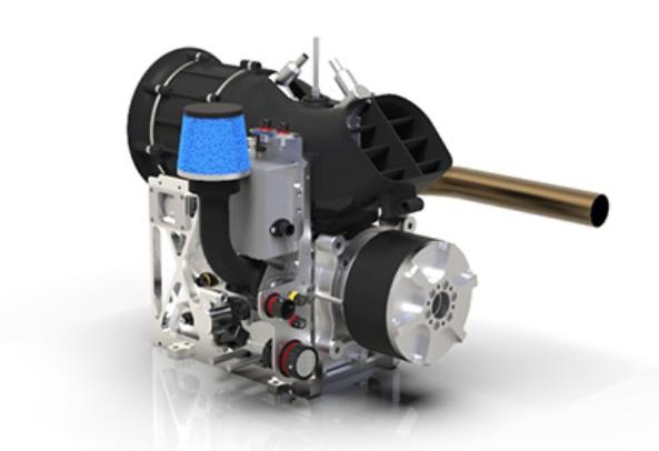德国Sky Power公司推出新型混合动力无人机发动机