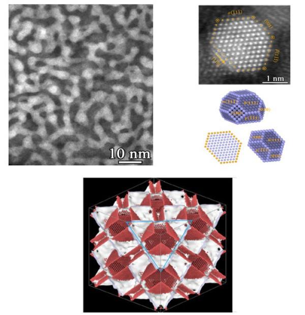 金属所在极细多晶体铜中发现一种新型亚稳固态-受限晶体结构