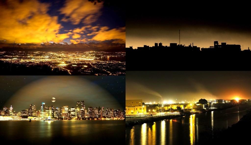 人造光污染正系统性破坏生态环境