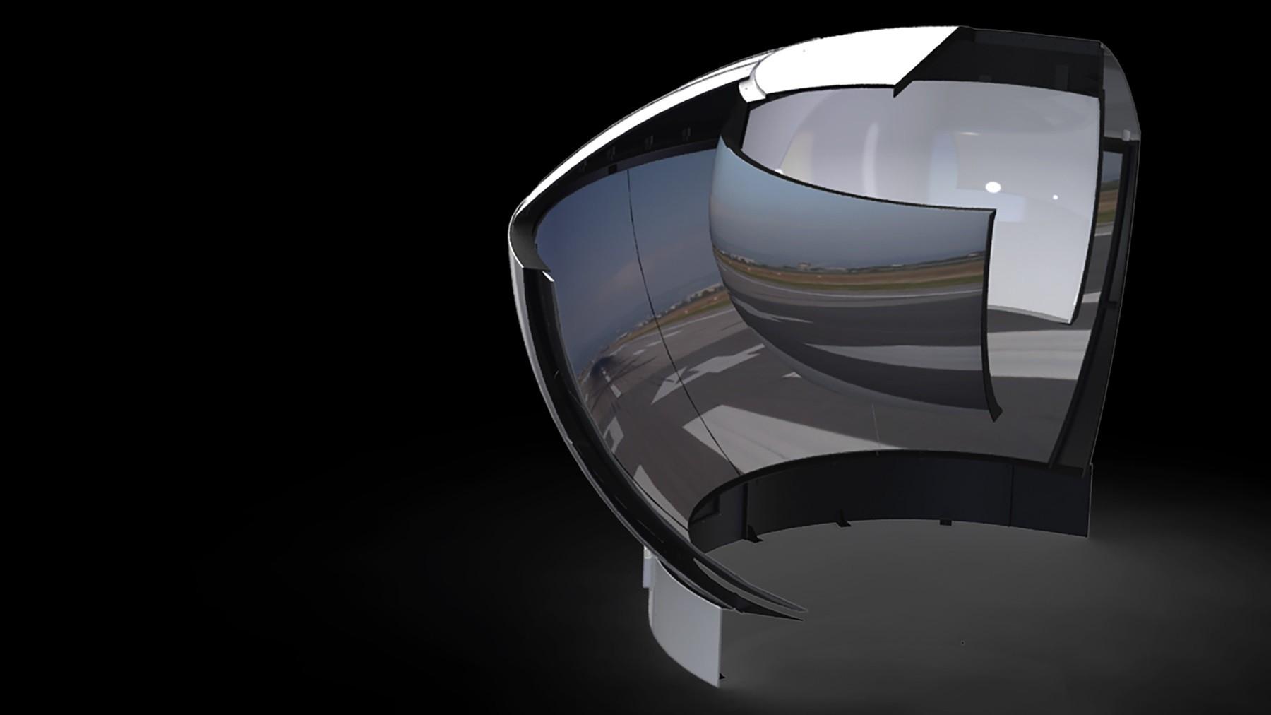柯林斯公司推出新型Panorama™HiLite全景镜面显示器