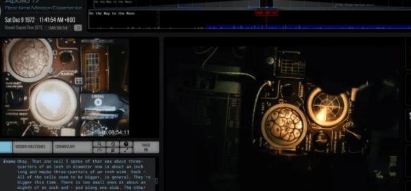 阿波罗号登月过程实时资料宝库