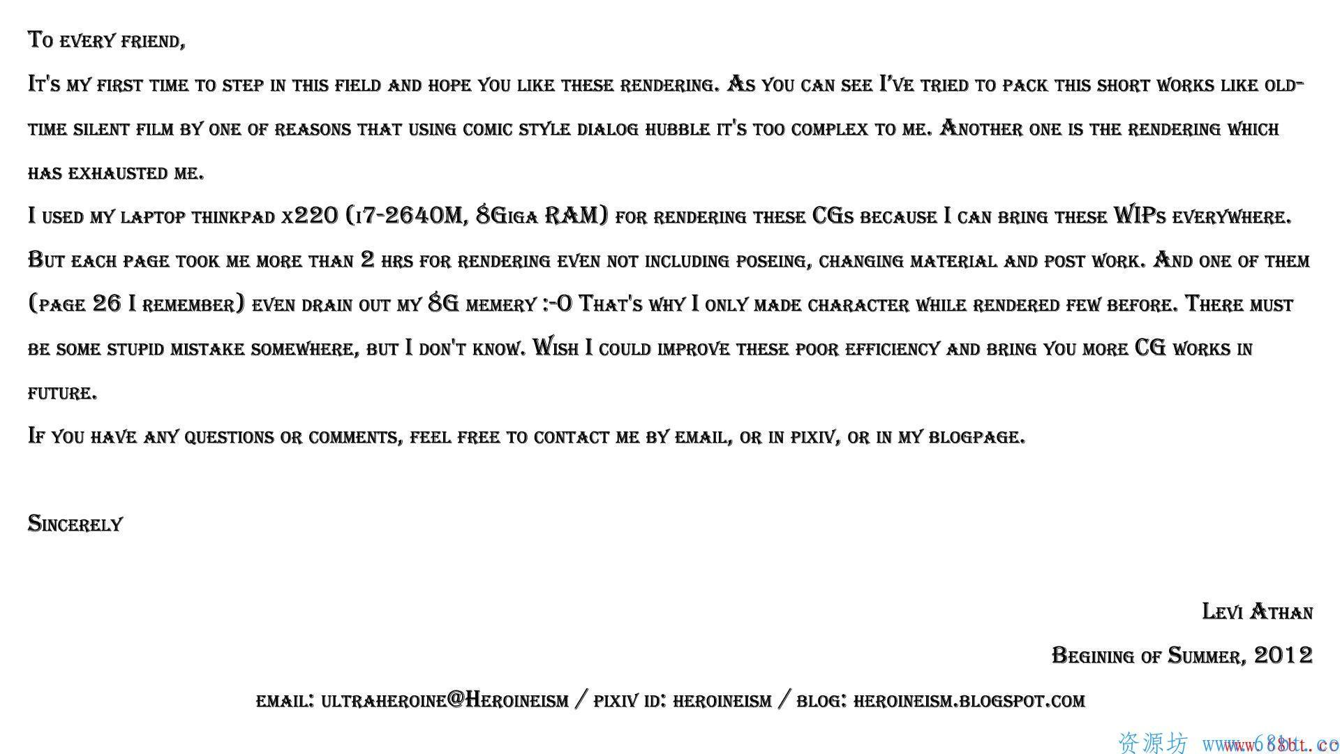 [同人CG集] [Heroineism] Photographic Record of Raped Mari,67_LetterToU.jpg,第48张