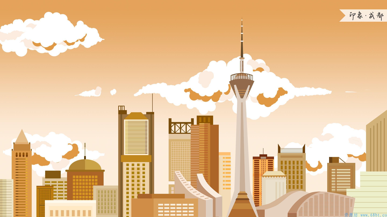 [云资源] 150款国潮风城市插画(PSD格式源文件),资源,插画,PS,云资源,格式,PSD,JPG,第3张